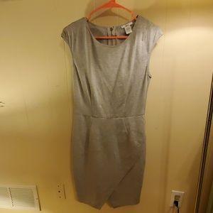 Bar III gray dress